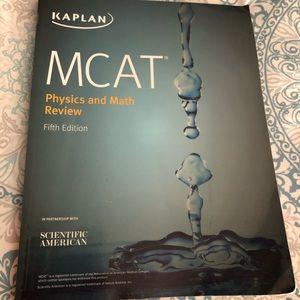 Kaplan MCAT Physics & Math Review textbook